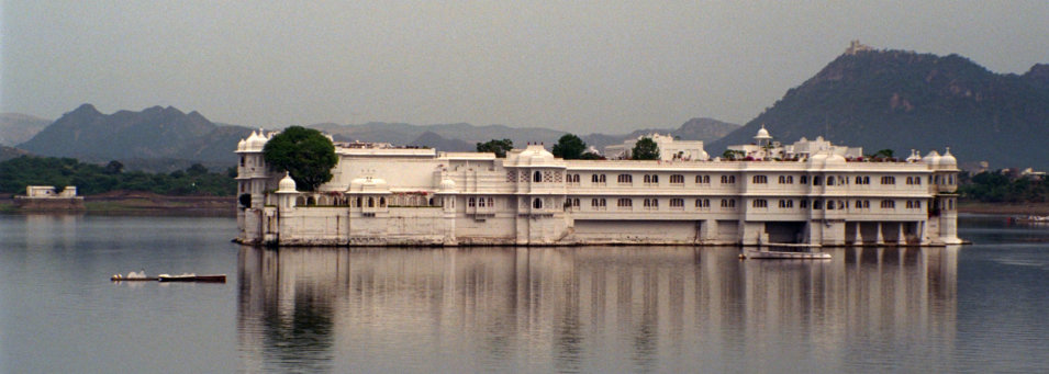 The Lake Palace at Udaipur, India